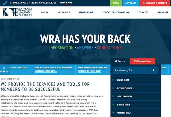 WRA Graydient Website Design
