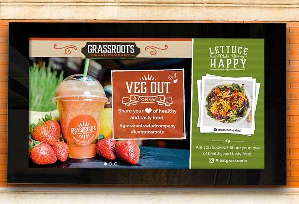 Grassroots Digital Signage