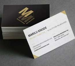 Sculpture Milwaukee Business Cards