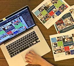 Designing WRA Moodboards Birdseye View