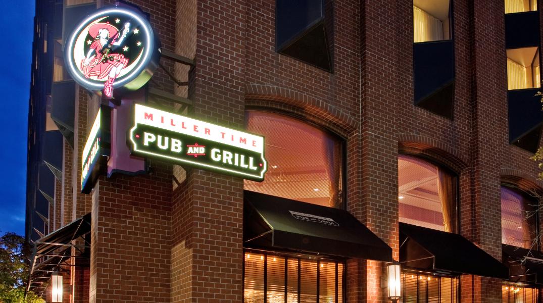 Miller Time Pub & Grill Building