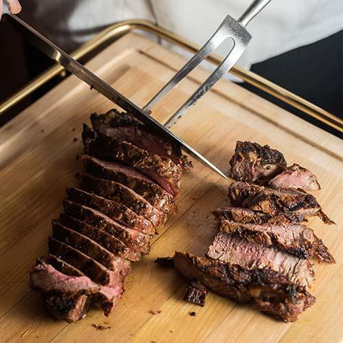 Fine steak dinner at Milwaukee ChopHouse