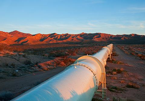 Above ground pipeline