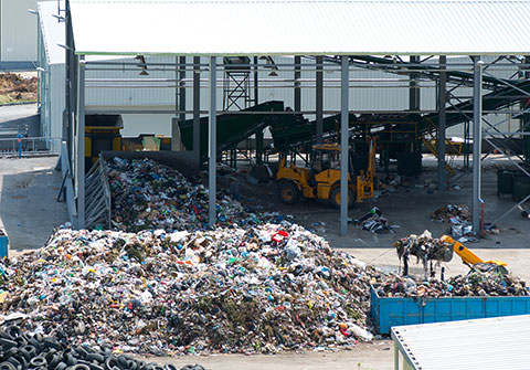 Waste, Scrap and Recycling center