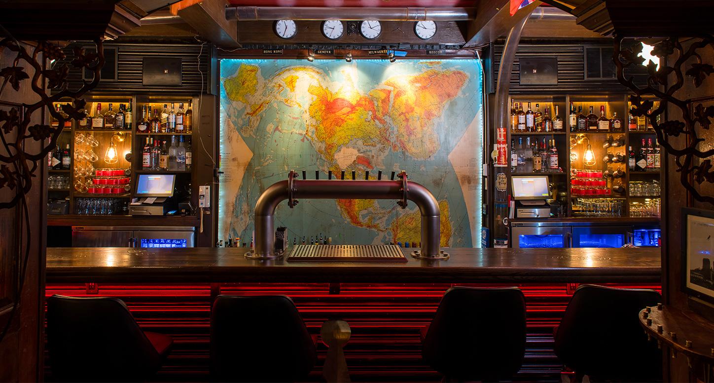 Bar at SafeHouse Milwaukee