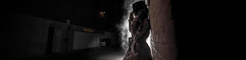 Undercover female agent
