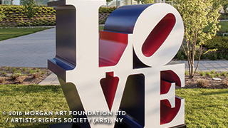 Robert Indiana's Sculpture