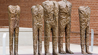 The Group of Five Sculpture