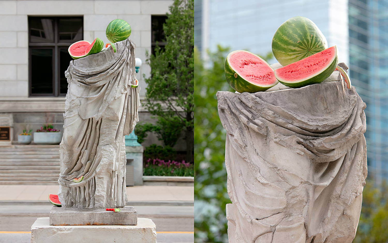 Hera half sculpture