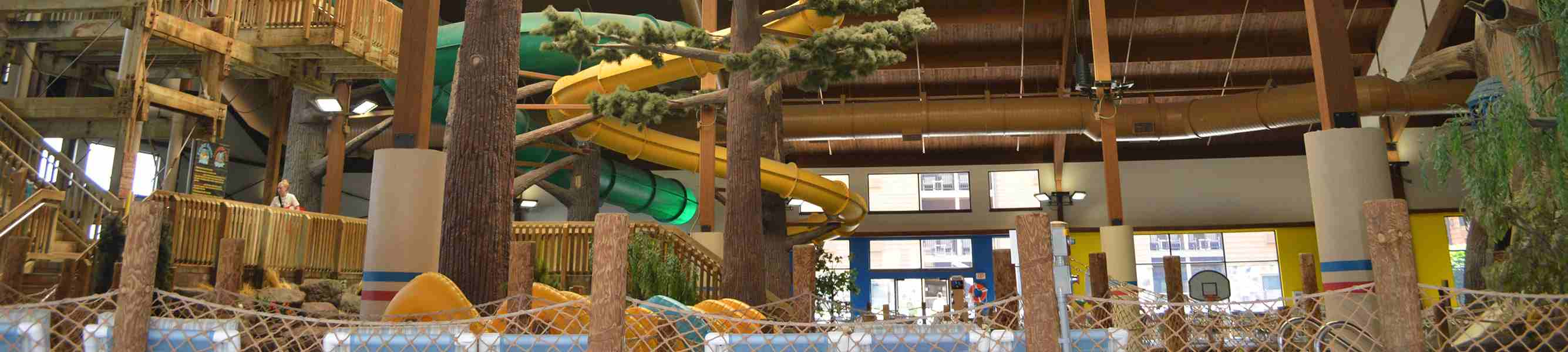 Indoor water parks near Chicago
