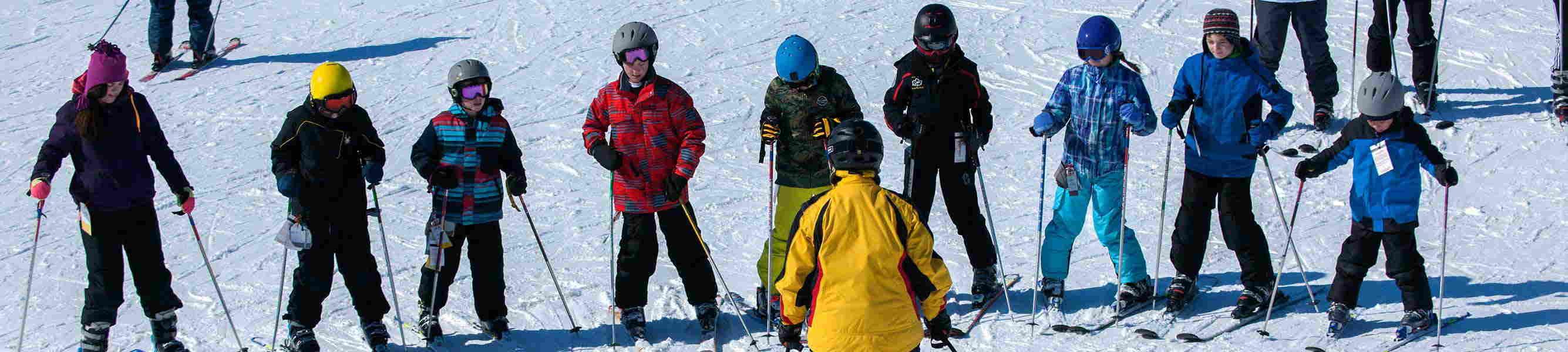 Family Ski in Lake Geneva
