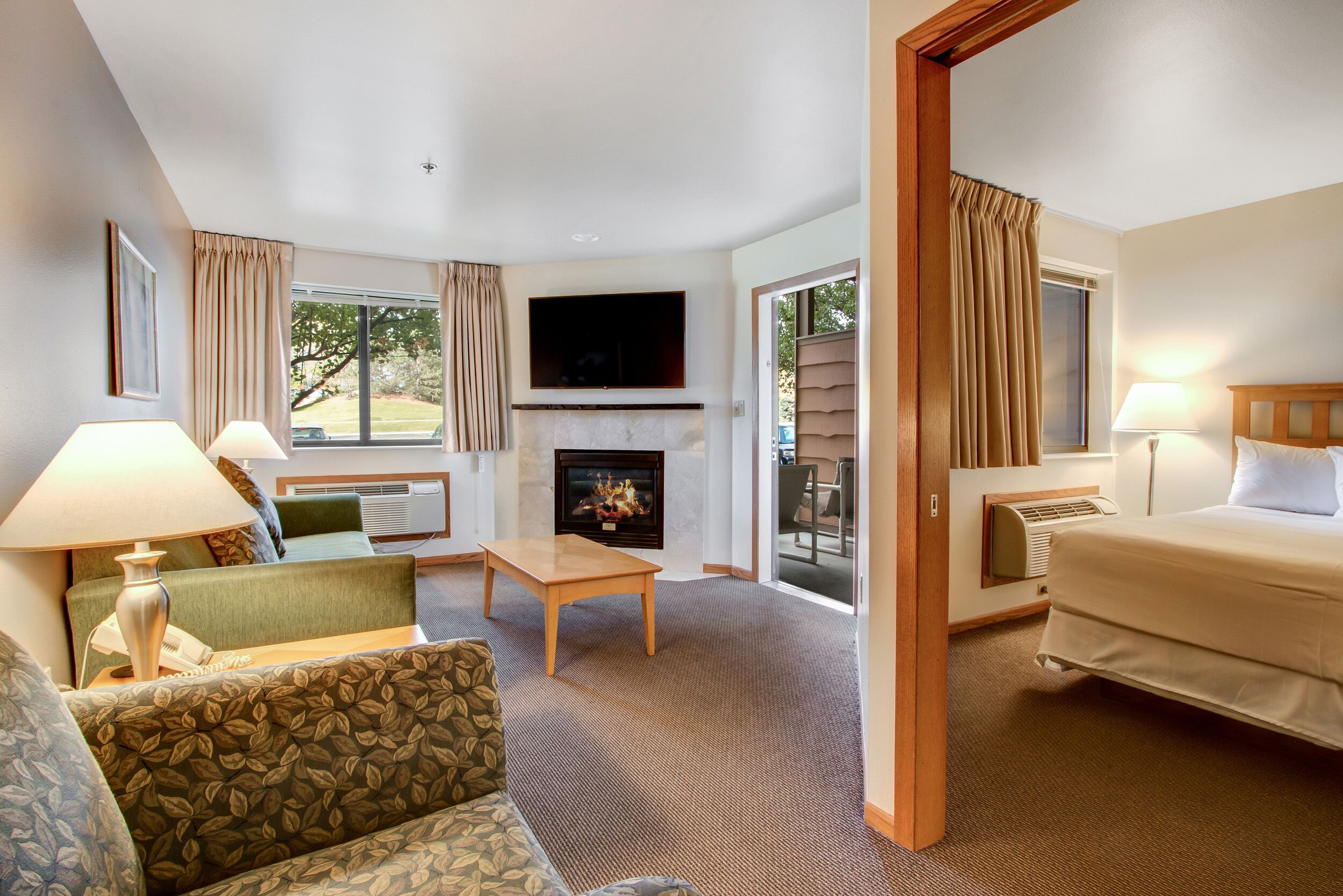 Wide View of Suite