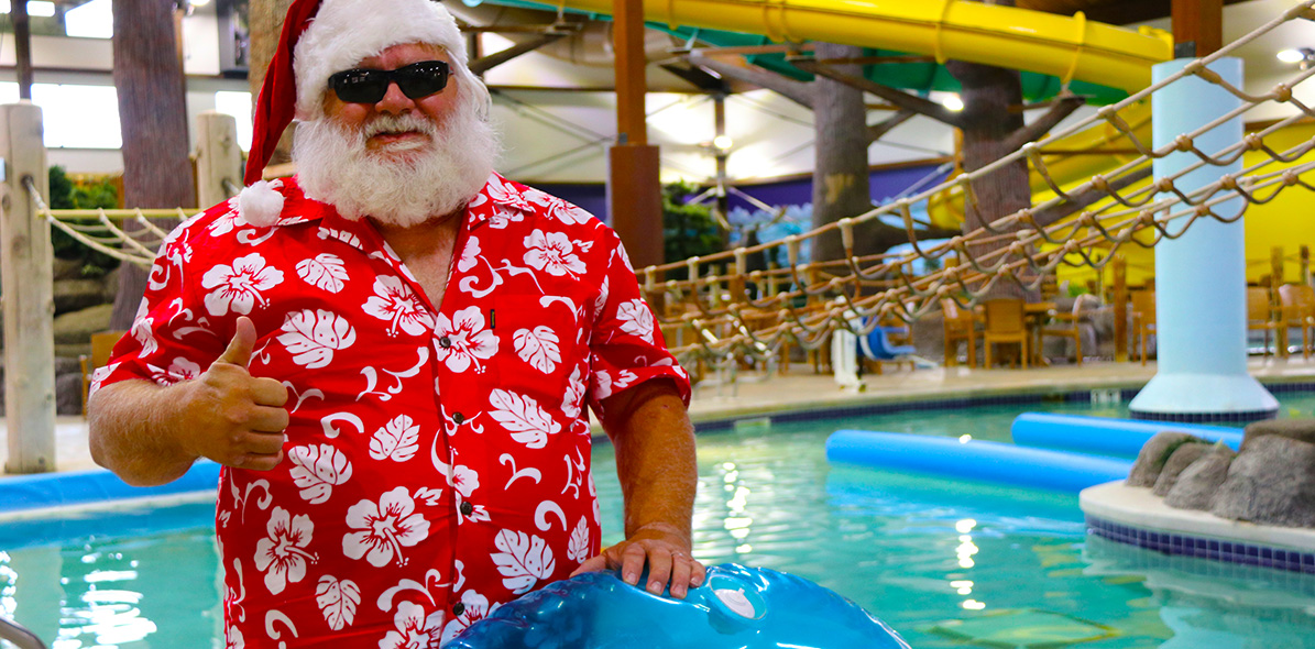 Santa at the Waterpark