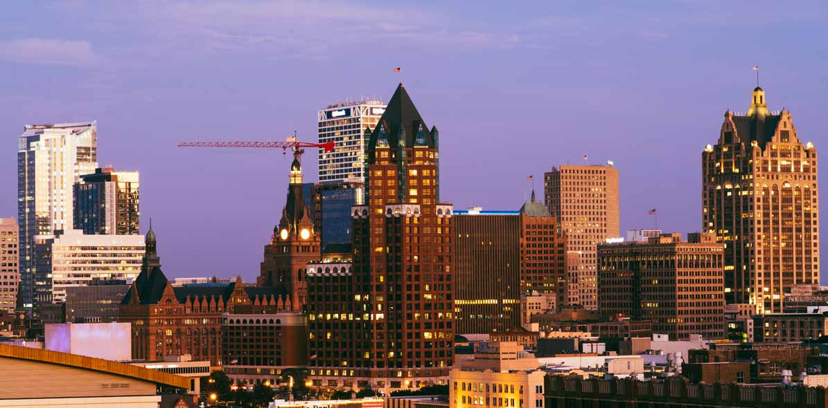 image of downtown Milwaukee