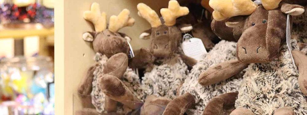 plush moose toys at Timber Ridge