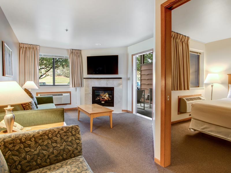 two bedroom suite at Timber Ridge