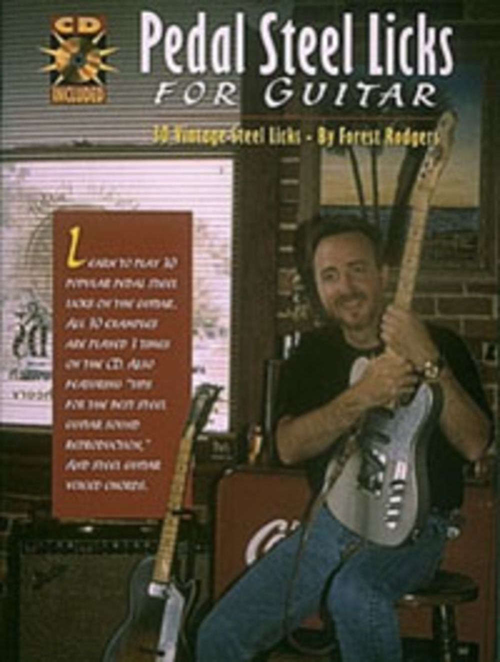 Pedal Steel Licks for Guitar with CD
