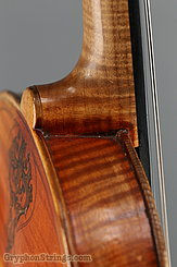 Unknown Violin Maggini Carved Peghead Image 24