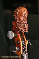Unknown Violin Maggini Carved Peghead Image 28