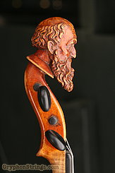 Unknown Violin Maggini Carved Peghead Image 29