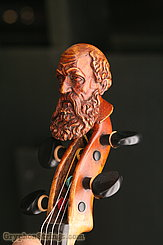Unknown Violin Maggini Carved Peghead Image 33