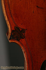 Unknown Violin Maggini Carved Peghead Image 35