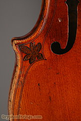 Unknown Violin Maggini Carved Peghead Image 37