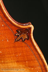 Unknown Violin Maggini Carved Peghead Image 41