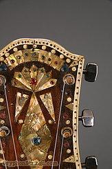 c. 1970s Maurice Mayes Banjo Folk Art Banjo-Guitar Image 22