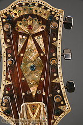 c. 1970s Maurice Mayes Banjo Folk Art Banjo-Guitar Image 24
