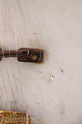 c. 1970s Maurice Mayes Banjo Folk Art Banjo-Guitar Image 5