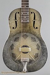 National Reso-Phonic Guitar Dueco, Green crystalline NEW Image 10