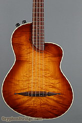 Rick Turner Bass RB-4 Flamed Maple top, back and sides NEW Image 10