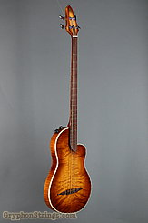 Rick Turner Bass RB-4 Flamed Maple top, back and sides NEW Image 2