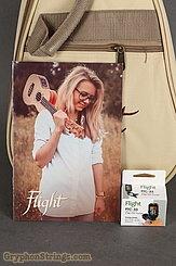 Flight Ukulele Concert, NUC 310 Player pack NEW Image 8