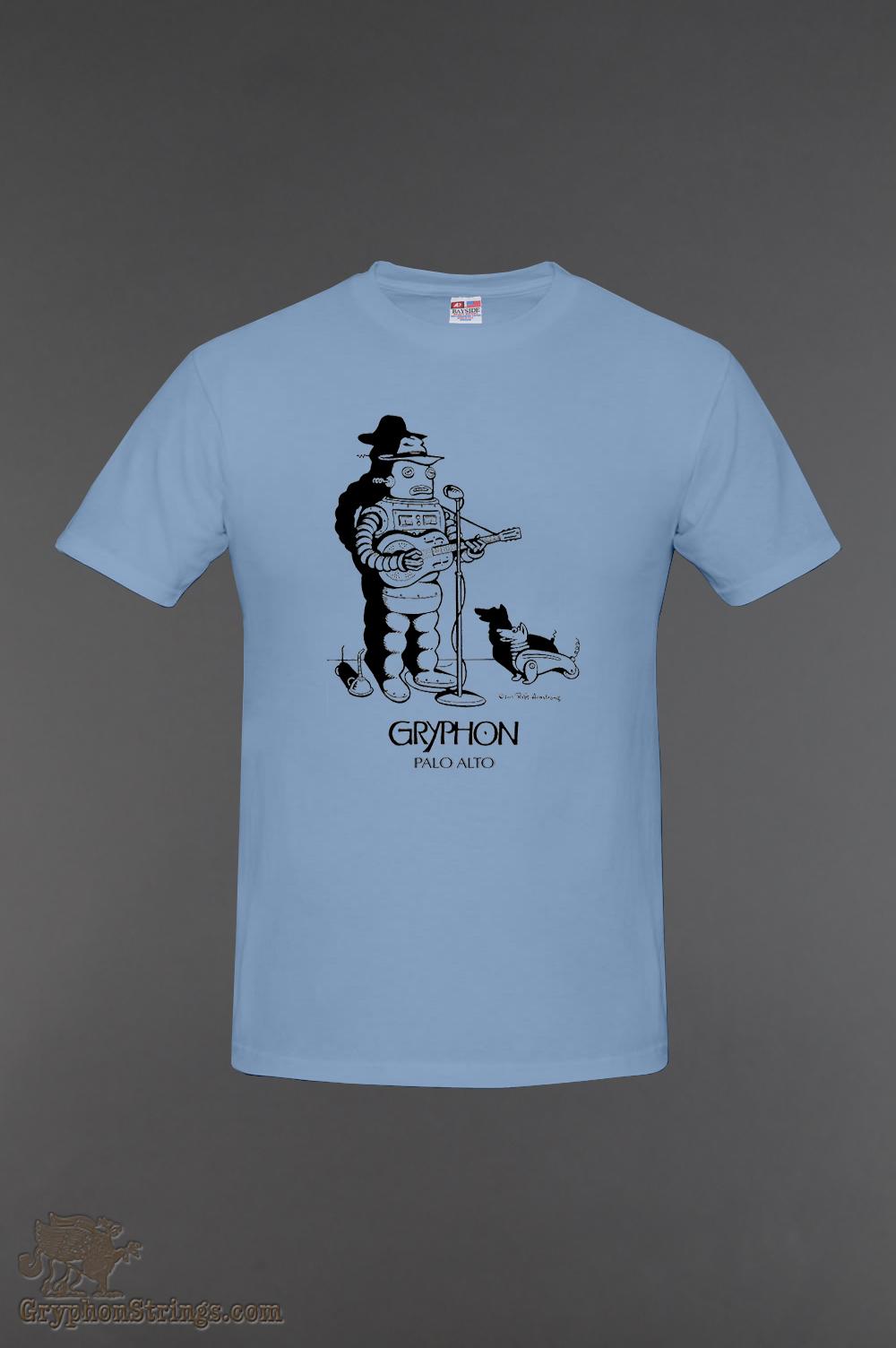 T Shirt, Robot Carolina, Made in USA