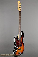 2013 Fender Bass Squier Jazz Bass Sunburst Left Image 2
