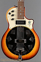 National Reso-Phonic Guitar Resolectric Sunburst NEW Image 10