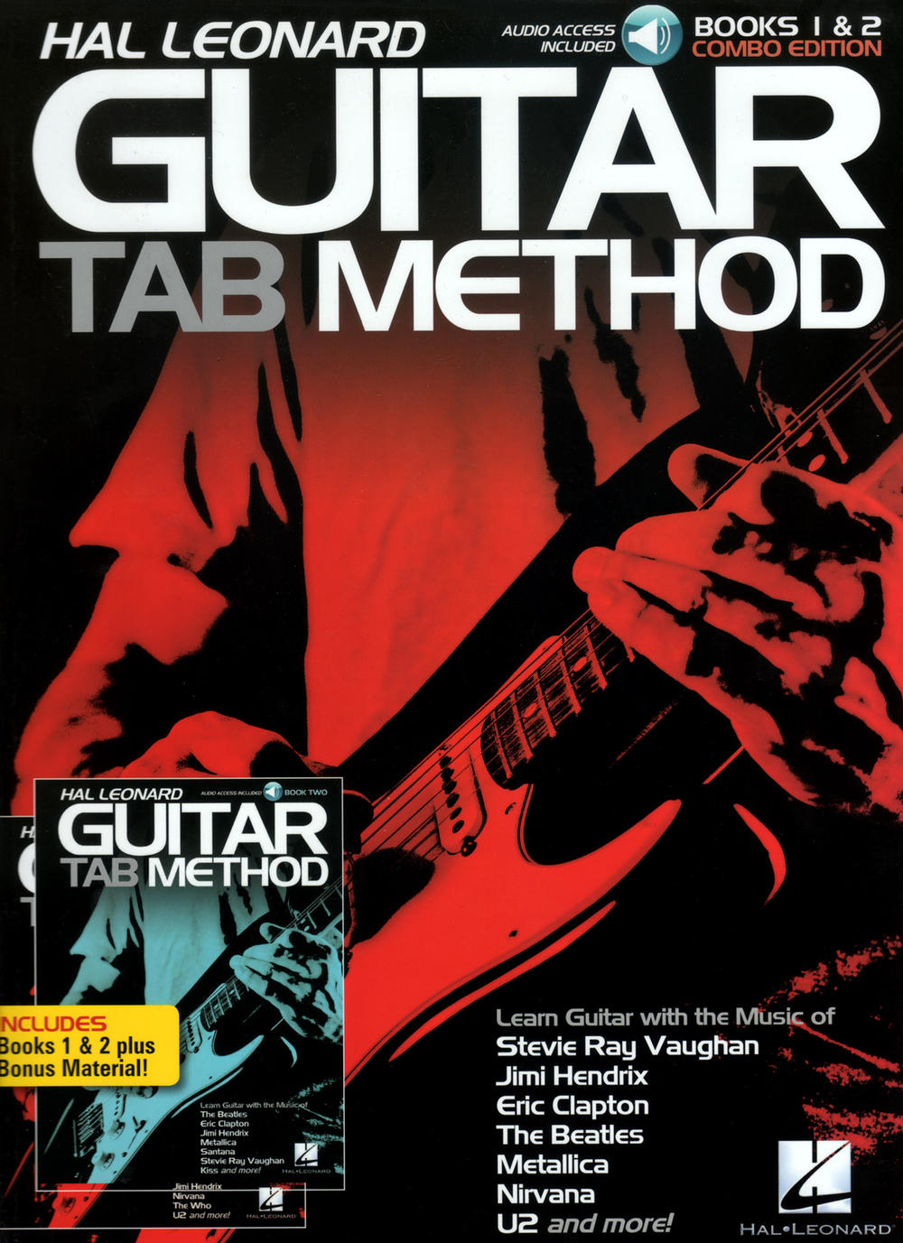 Hal Leonard Guitar Tab Method – Books 1and 2 Combo Edition
