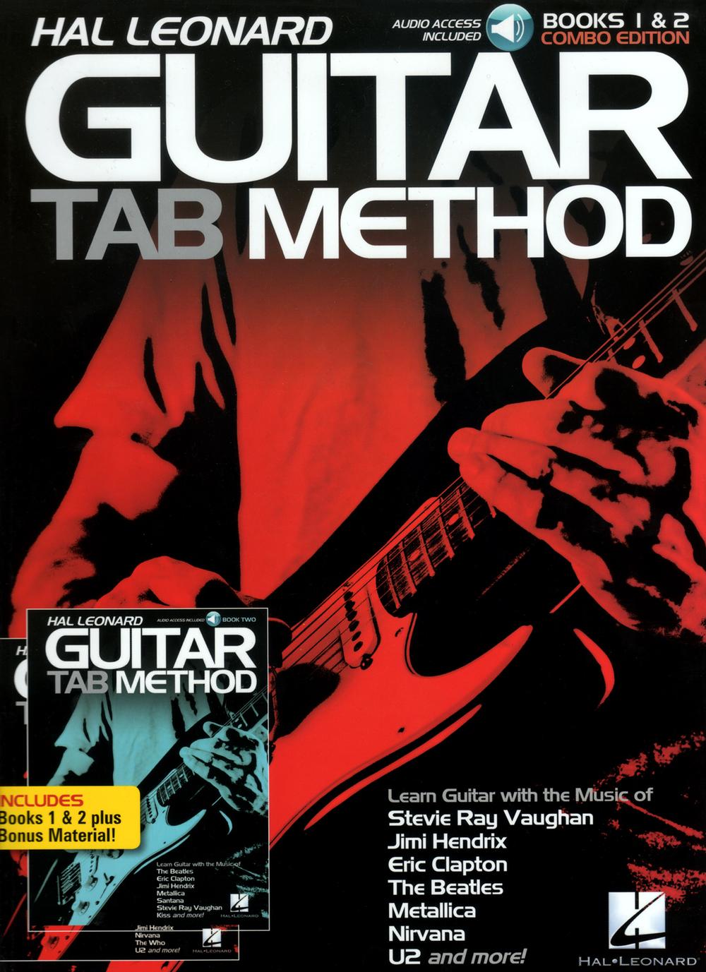 Hal Leonard Guitar Tab Method Books 1and 2 Combo Edition Books