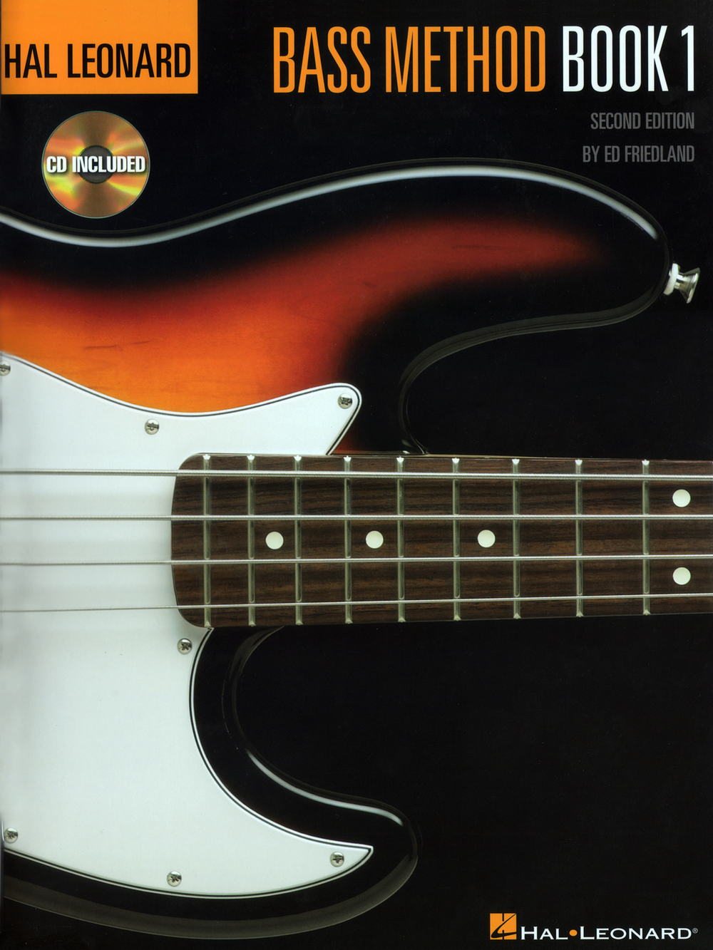 Hal Leonard Bass Method - Book 1 with CD
