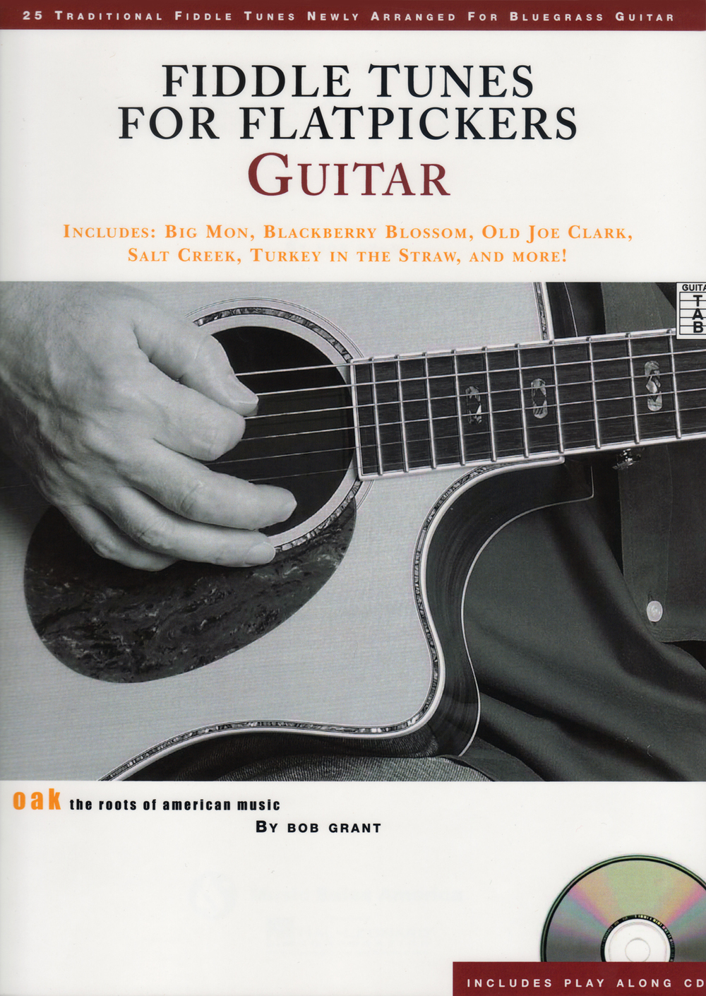 Fiddle Tunes for Flatpickers – Guitar