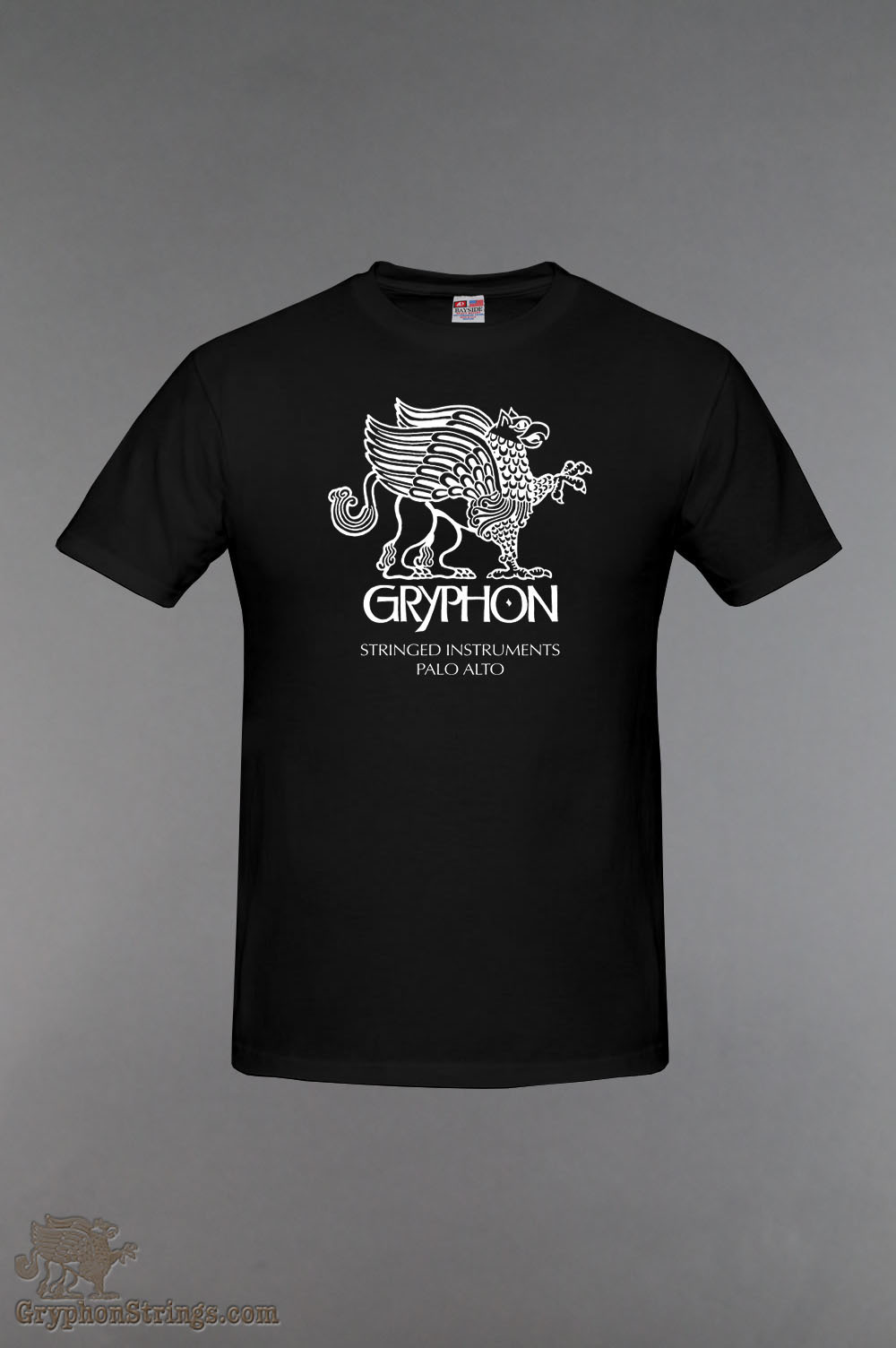 Gryphon Classic T Black - Made in USA