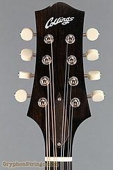 Collings Mandolin MT, Jet Black gloss top, Ivoroid Binding Mandolin NEW Image 13