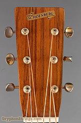 1988 Schoenberg Guitar Soloist, non-cutaway (Brazilian) Lefty Image 13