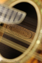 c.1928 Stal (Larson Bros) Mandolin Reverse curl Image 10