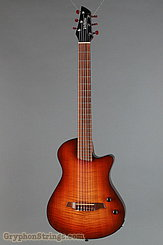2012 Veillette Guitar Journeyman Nylon String Cherry Burst