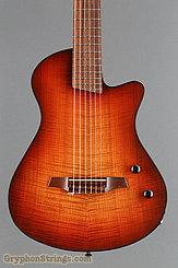 2012 Veillette Guitar Journeyman Nylon String Cherry Burst Image 10