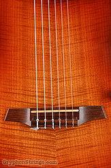 2012 Veillette Guitar Journeyman Nylon String Cherry Burst Image 11
