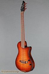 2012 Veillette Guitar Journeyman Nylon String Cherry Burst Image 8